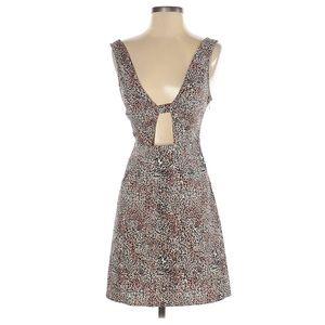 Urban Outfitters Cheetah Print 90s Mini Dress